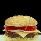 Valor nutritivo de una hamburguesa sin pan