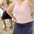 Que cosas no deberías usar cuando tienes sobrepeso