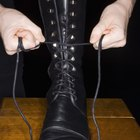 How to Lace Vintage Boots