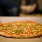 Valor calórico de una porción de pizza