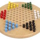 Cómo hacer un tablero para un juego de damas chinas