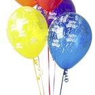 ¿Cómo mantener los globos inflados durante toda la noche?