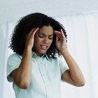 Puntos de presión para los dolores de cabeza