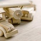 Cómo construir un auto de madera