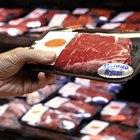 Comparación de valor nutricional de la carne de ternera y de res