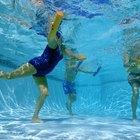 Caminar en piletas de natación para dolores de espalda crónicos