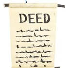 What Does a Deed Show?