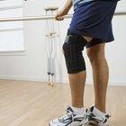 El uso de una rodillera para ejercitarse luego de la cirugía del LCA