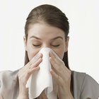 How to Deal With a Chapped Nose From Tissues