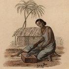 Cómo hacer una choza india pequeña a escala de la época de los pioneros