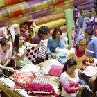 Cómo iniciar un pequeño negocio en la industria textil