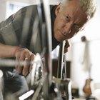 Cómo remover el óxido de la cadena de una bicicleta