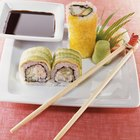Dolor de estómago después de comer sushi