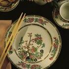 Cómo cortar un plato de porcelana