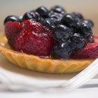 Mix a Gelatin Glaze for Fruit