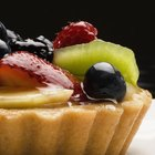 Decorate Pastry With Glazed Fruit