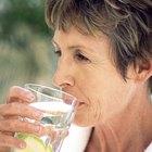 La hidratación adecuada en ancianos