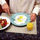 Plan de comidas sugerido para una dieta hipoglucémica