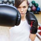 Compara las calorías del boxeo cardio con las calorías al correr