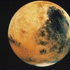 Cuál es la temperatura más alta de Marte
