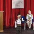 Juegos de deletreo para niños de 5º grado