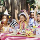 Kids Birthday Party Menu Ideas