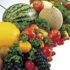 ¿Qué frutas y vegetales son buenos para la vista?
