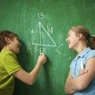 Cómo calcular los grados de un ángulo