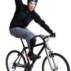 Calorías estimadas por andar en bicicleta