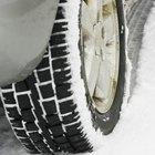 ¿Coloco cadenas para la nieve en las ruedas delanteras o traseras?