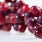 ¿Qué vitaminas contienen las uvas?