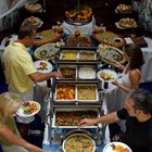 Prepare a Buffet Table
