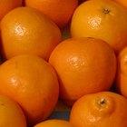 El ácido en las naranjas