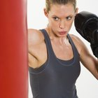 ¿Un saco de boxeo debe poder moverse?