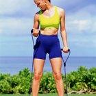 ¿Cómo crean músculo las ligas de resistencia?