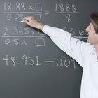 Cómo convertir números mixtos en números enteros