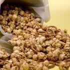 Cuántas calorías contienen las palomitas de maíz caramelizadas