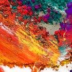 Cómo mezclar pintura color rojo ladrillo