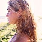 ¿Los sprays de playa funcionan en el cabello liso?