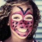 Ideas para pintar las caras en fiestas de cumpleaños infantiles