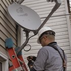 Satellite dishes need to be positioned correctly.