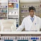 El salario promedio de un farmacéutico y un gerente de farmacia