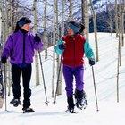 Calorías quemadas por hora caminando con raquetas de nieve
