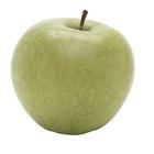 ¿Cuánta fibra hay en una manzana pequeña?