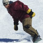 Realización de curvas básicas en tabla para nieve (snowboarding)