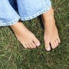 Cuidados para una uña del pie rota