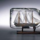 Cómo construir barcos en miniatura desde el principio