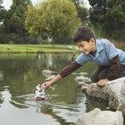 Cómo se sellan las fugas en un estanque