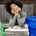 Cosas fáciles para hacer con artículos reciclados