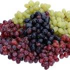 Cuántas calorías tiene la uva